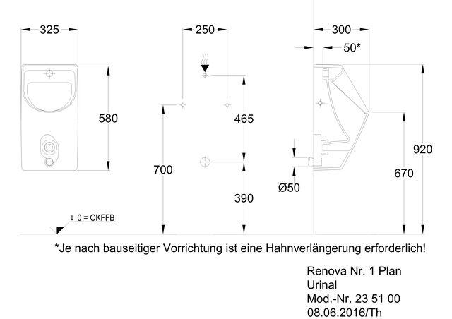 Renova Nr1 Plan Urinal Ihr Sanitärinstallateur Aus Hannover